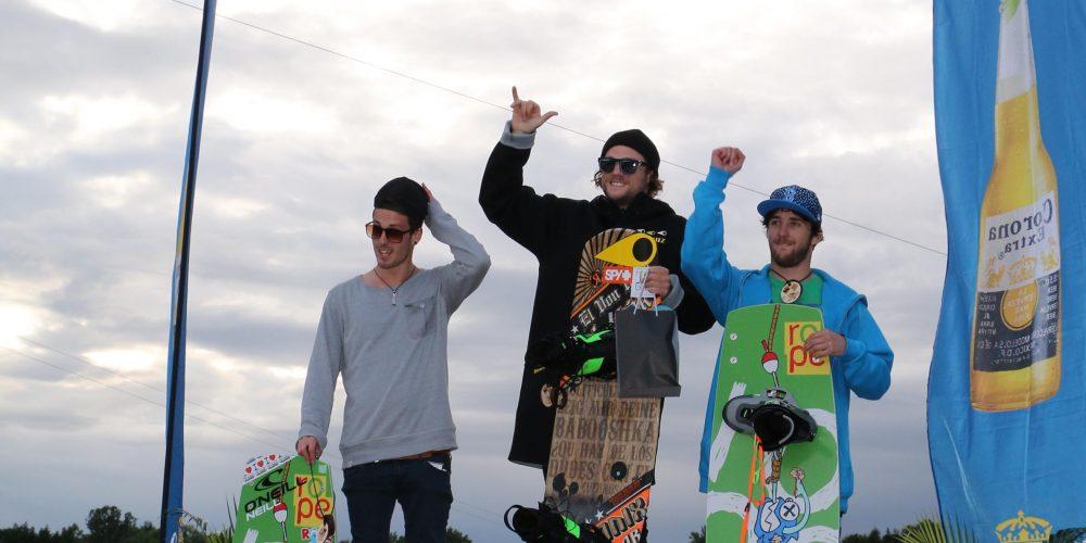 Erfolgreicher Saisonauftakt für Österreichs Wakeboarder am Planksee –Emilio Epstein gewinnt den ersten Stopp des Corona Wakeboard Cup 2014