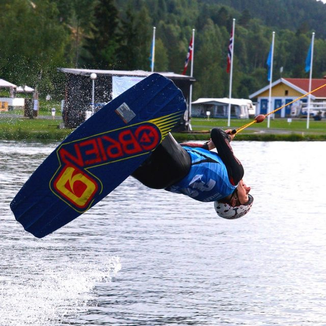Silber und Bronze für die Deutschen bei den Cable Wakeboard World Championships 2014 in Norwegen