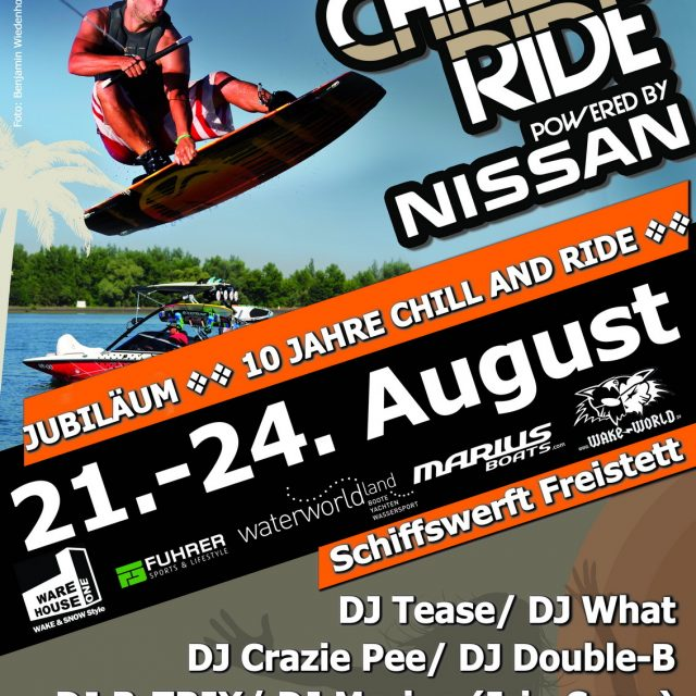 Chill and Ride powered by NISSAN feiert 10-jähriges Jubiläum