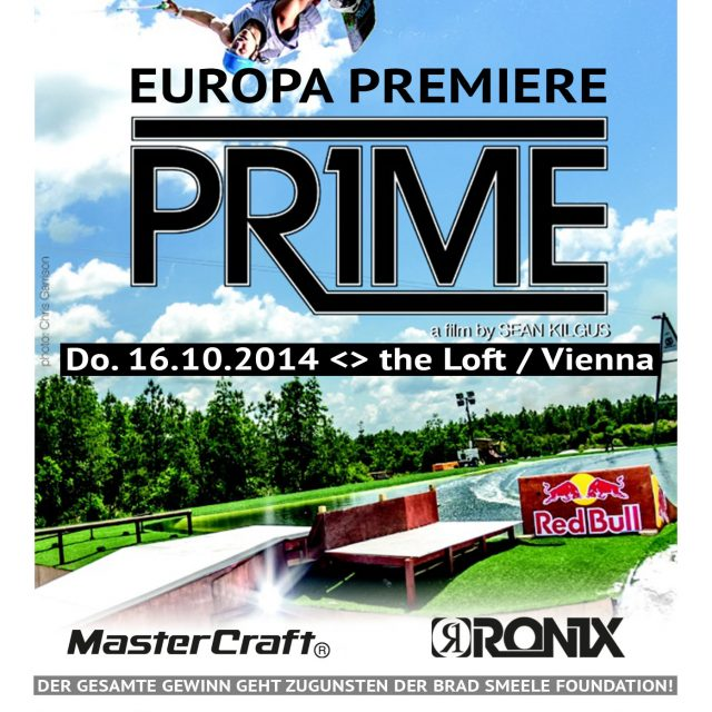 'PRIME' Wakeboard Movie – Europapremiere in Wien