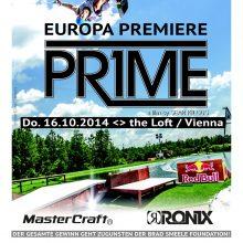 'PRIME' Wakeboard Movie – Europapremiere in Wien