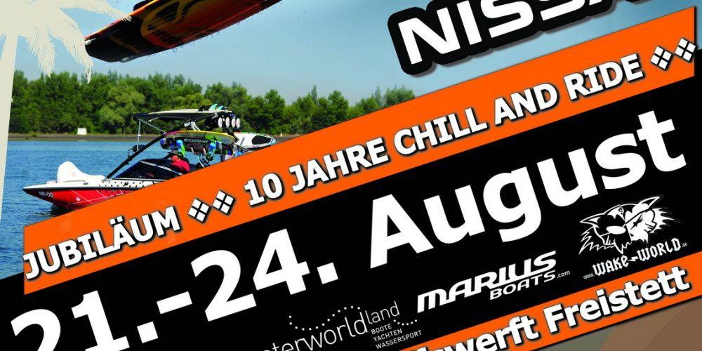 Chill and Ride powered by NISSAN feiert 10-jähriges Jubiläum