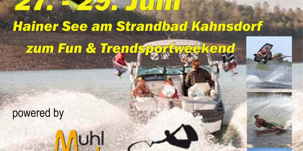 Easy to Ride Day's 2014 powered by Muhl-Watersports und MasterCraft – Germany