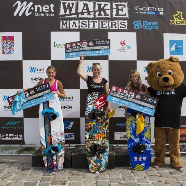 Nadine Härtinger aus München gewinnt M-net Wake-Masters im Olympiapark