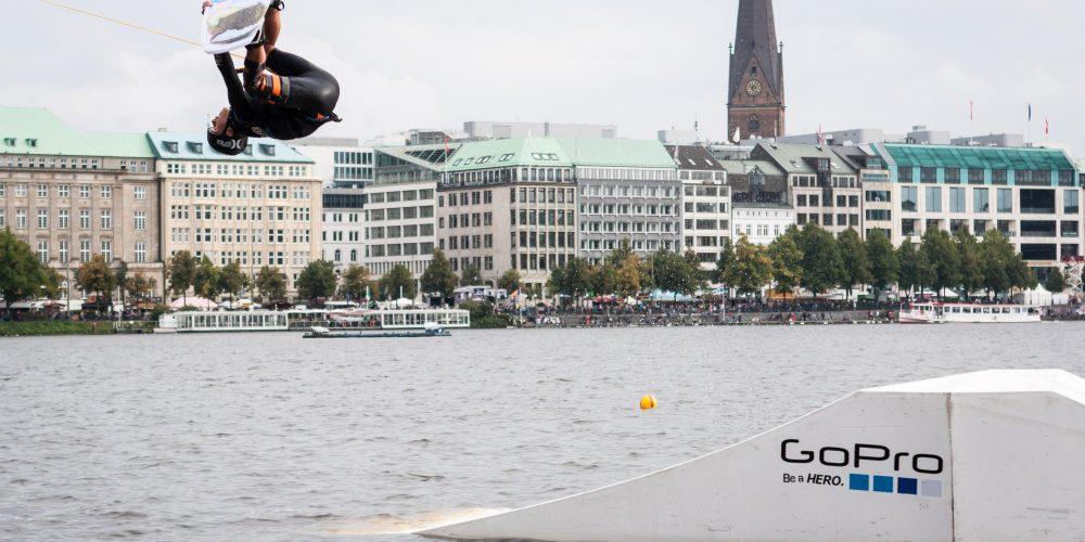 Podestplätze für Timo Kapl (OÖ) und Astrid Schabransky (OÖ) beim Wake Masters Worldtour Event in Hamburg