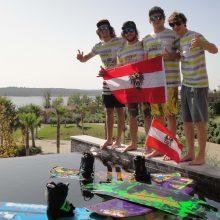 Qualifikationsläufe für das Austrian Wakebord Team bei der Boot EM in Portugal
